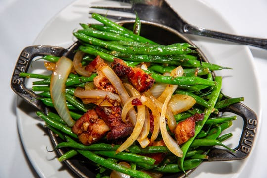 French green beans from 801 Chophouse Wednesday, Dec. 5, 2018.
