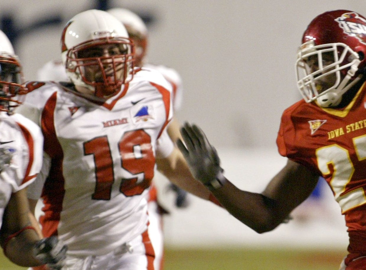 Stevie Hicks, a sophomore tailback, rushed for 159 yards, including a 4-yard touchdown in the first quarter during the 2004 Independence Bowl.