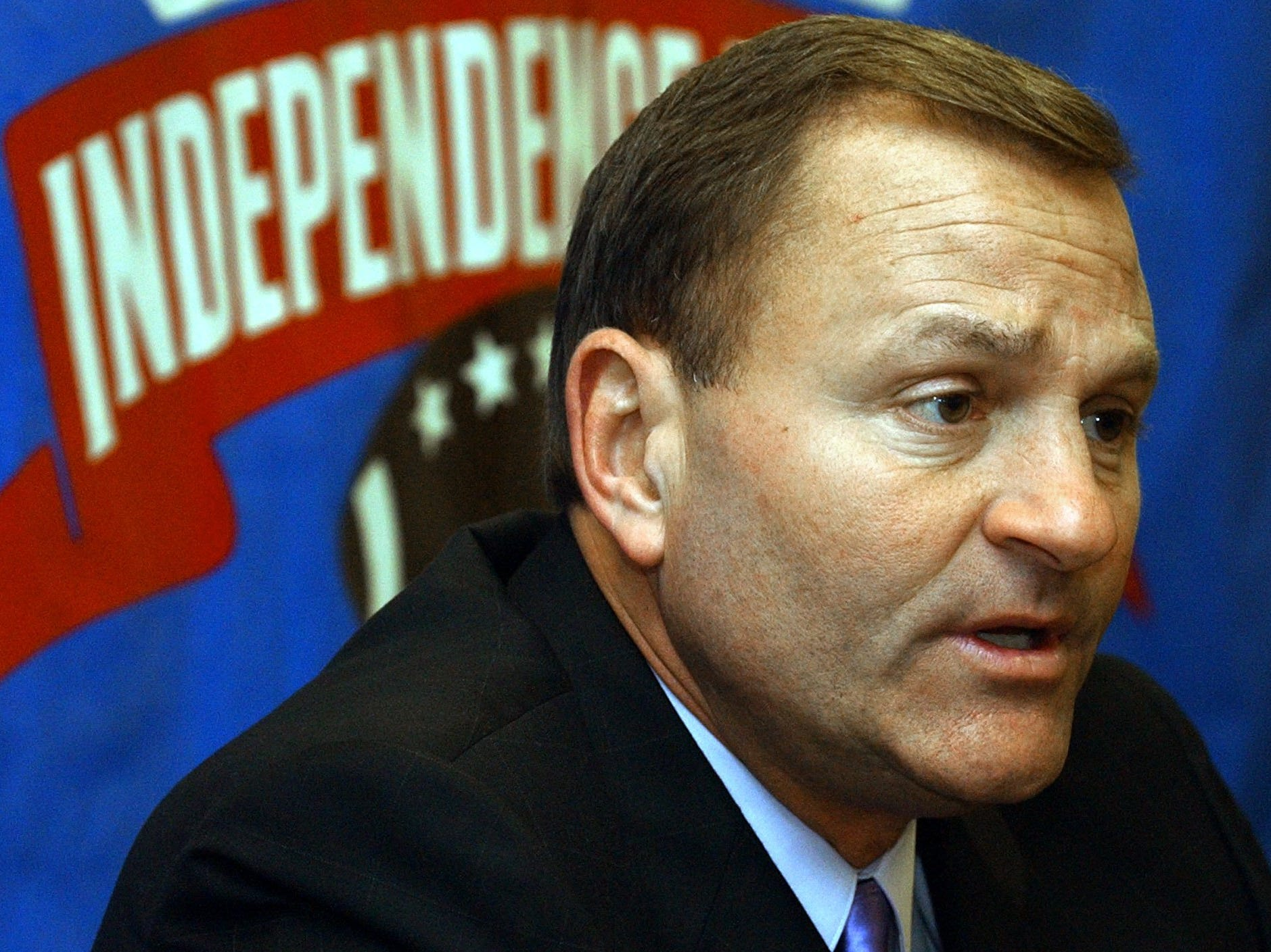 Iowa State football coach Dan McCarney discusses his team's preparation for their 2004 Independence Bowl game against Miami of Ohio during a news conference in Shreveport, La., Dec. 27, 2004.
