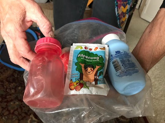 Migrants' baby Items found in the Arizona desert