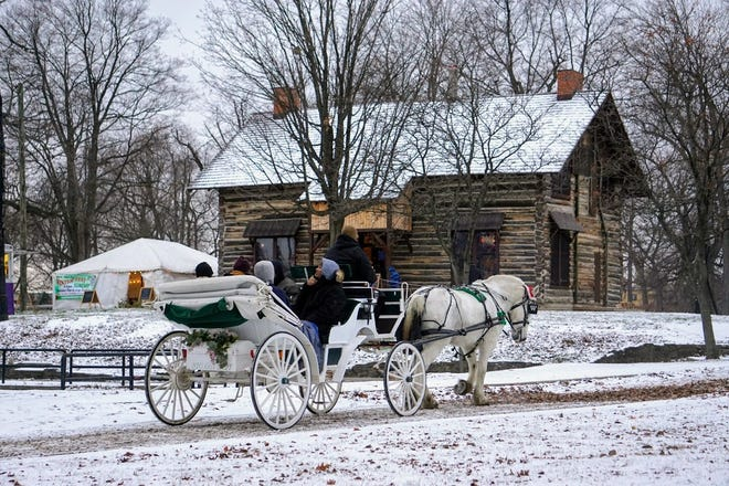 People for Palmer Park presented WinterFest in the historic Log Cabin in Detroit's Palmer Park on December 10, 2017.