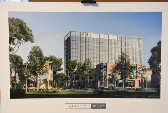 Artist rendering of a $108 Million, 5.2-acre project in the Lafayette Park neighborhood named Lafayette West.
