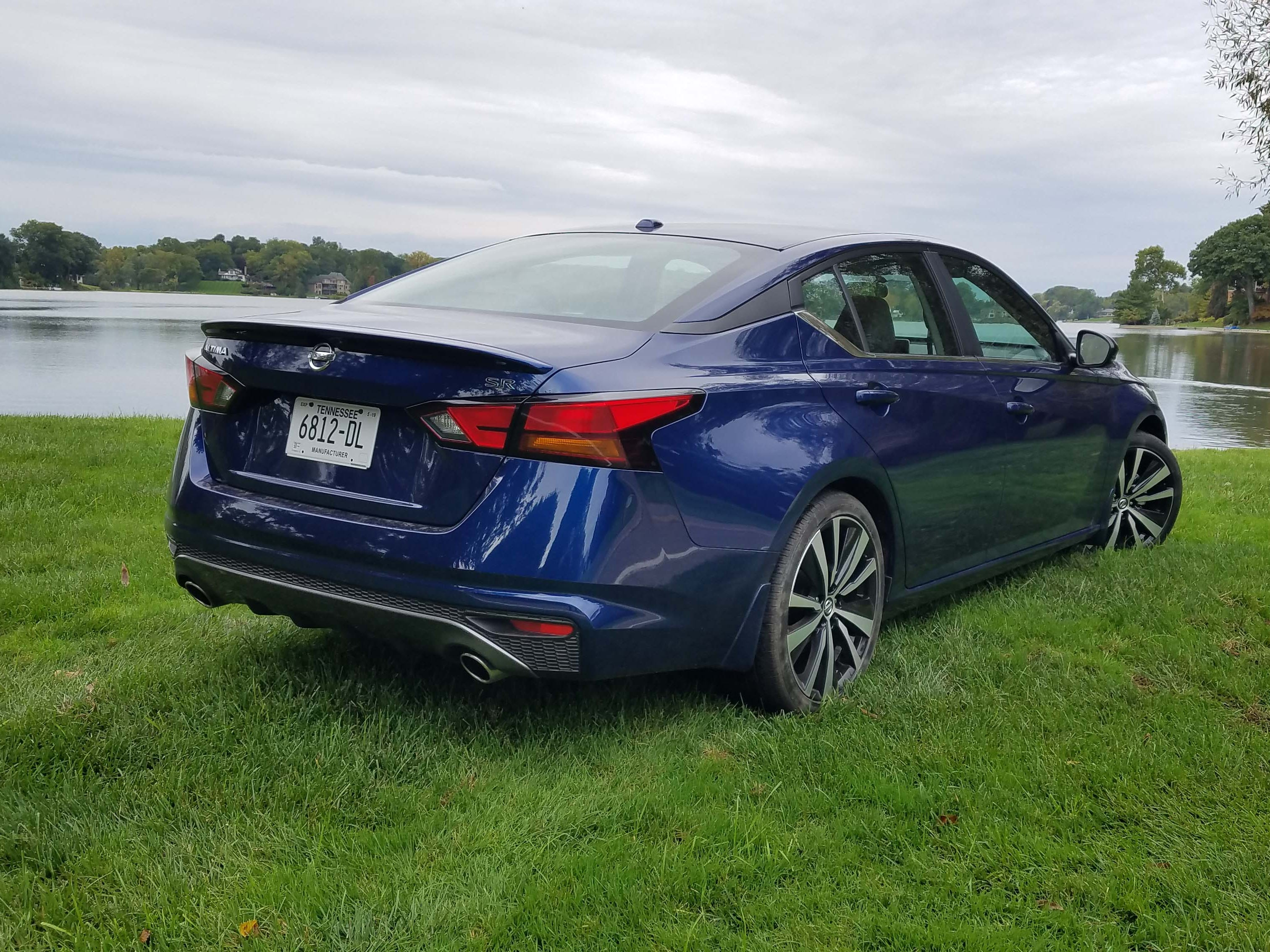 The 2019 Altima deserves a look in sport utility-crazy America with its stylish looks, big rear seat room and all-wheel-drive option.