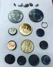 Wednesday's donation brings the total count to six coins that have an estimated value of nearly $7,400.