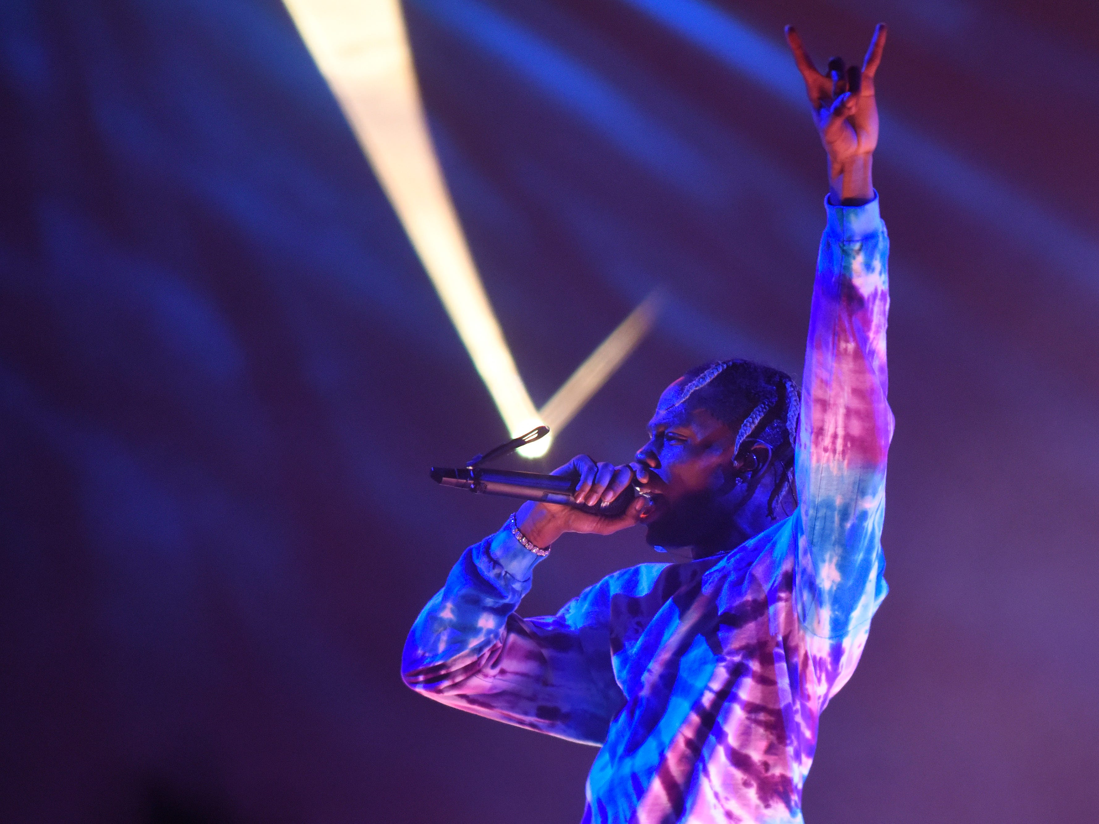 Travis Scott performs.