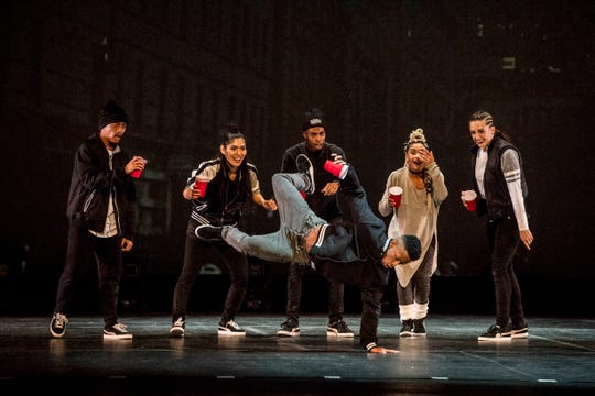 """The Hip Hop Nutcracker"" will be performed Thursday at the Masonic Temple. It is touring 28 U.S. cities this year."