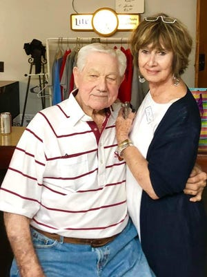 Gallatin County legendary coach Bob Dallas, shown with his wife, Nina, passed away on Tuesday at 90.