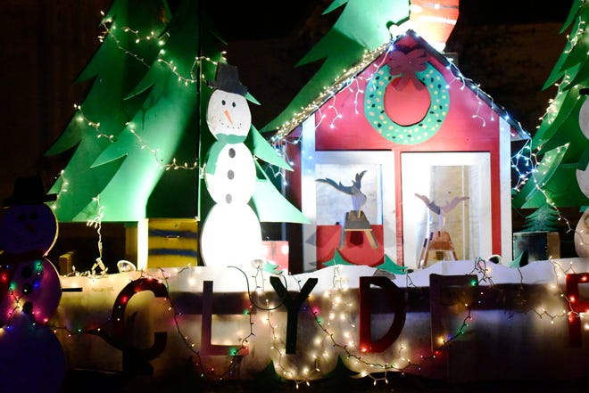 The 2018 Sandusky County Fairgrounds Winter Wonderland opened Thursday night, as motorists slowly circled around the fairgrounds and looked at dozens of colorful holiday light displays. This is the seventh year the fairgrounds has hosted the holiday event.