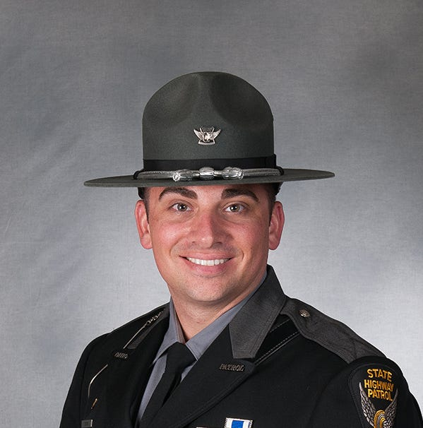 Fremont man named trooper of the year for second time