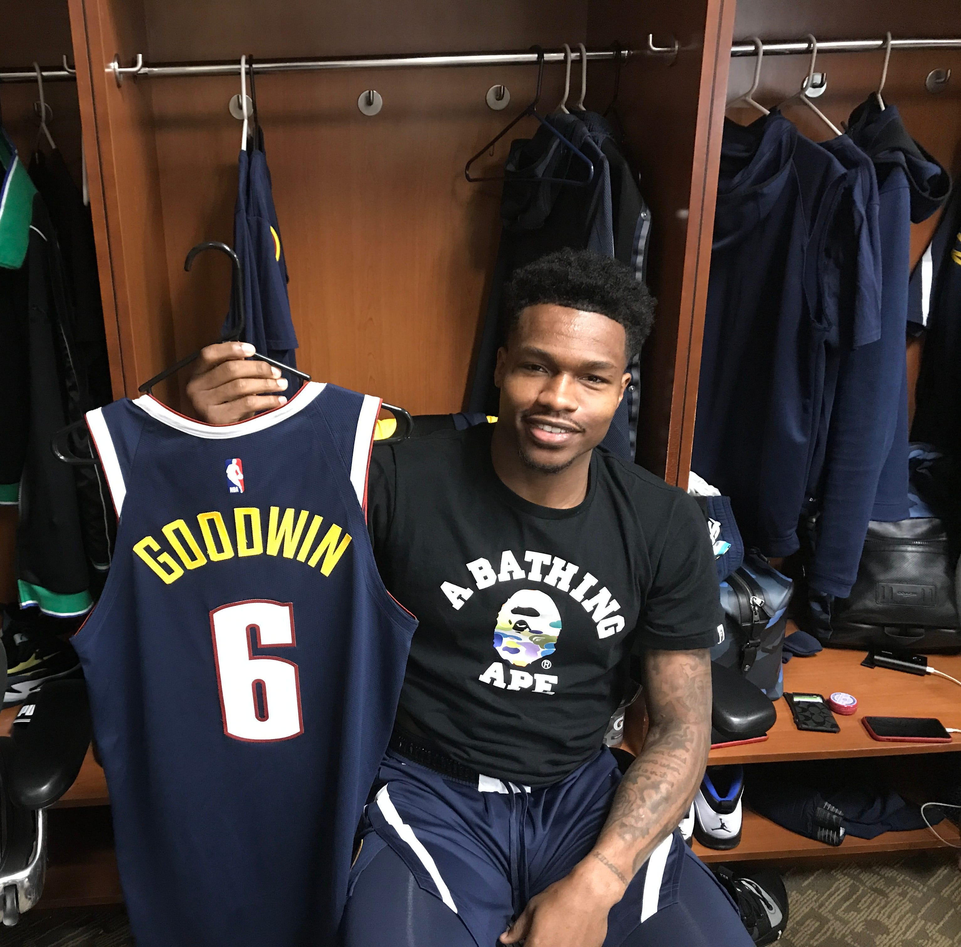 FGCU's Brandon Goodwin living out his NBA dream with the Denver Nuggets