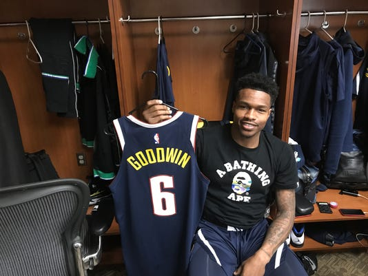 FGCU s Brandon Goodwin living out his NBA dream with the Denver Nuggets 533111968