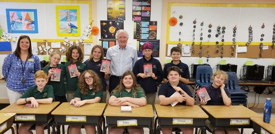 Author Robert Martin met with De LaSalle students about chasing their dreams.