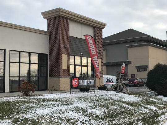 Pizza Hut is opening a new location in the 2000 block of Lime Kiln Road. The strip center includes a Walgreen's and a NewStyle Salon.