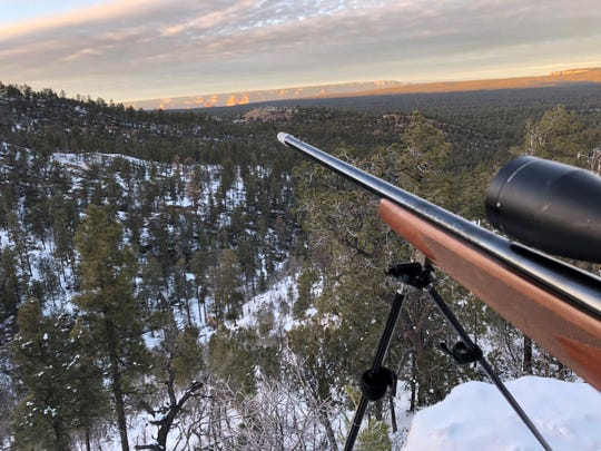 When snowstorms passed after Nov. 30, temperatures dipped into the single digits in northern Arizona near the Grand Canyon.
