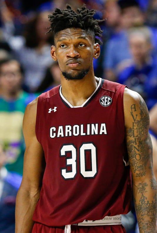 Ncaa Basketball South Carolina At Florida