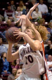 Sonya Rogers was a star at the University of Montana after playing for the Lewistown Golden Eagles.