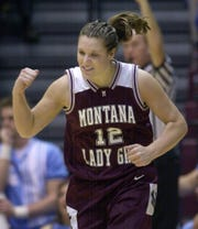 Katie Edwards played for the Lewistown Golden Eagles before starring for the University of Montana Lady Griz.