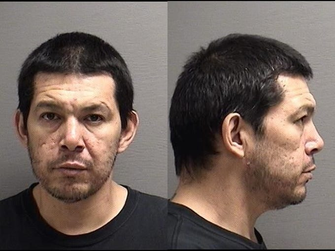 """BERCIER, BRIDGER Lawrence:  39 yoa, Native American male, 6'1"""", 230 pounds, brown hair, brown eyes. Wanted on:  Aggravated Assault, felony, total bond $10,000. If you have any information on the whereabouts of these individuals, please call the 24-hour Crimestoppers tip line at 727-TIPS (8477)"""