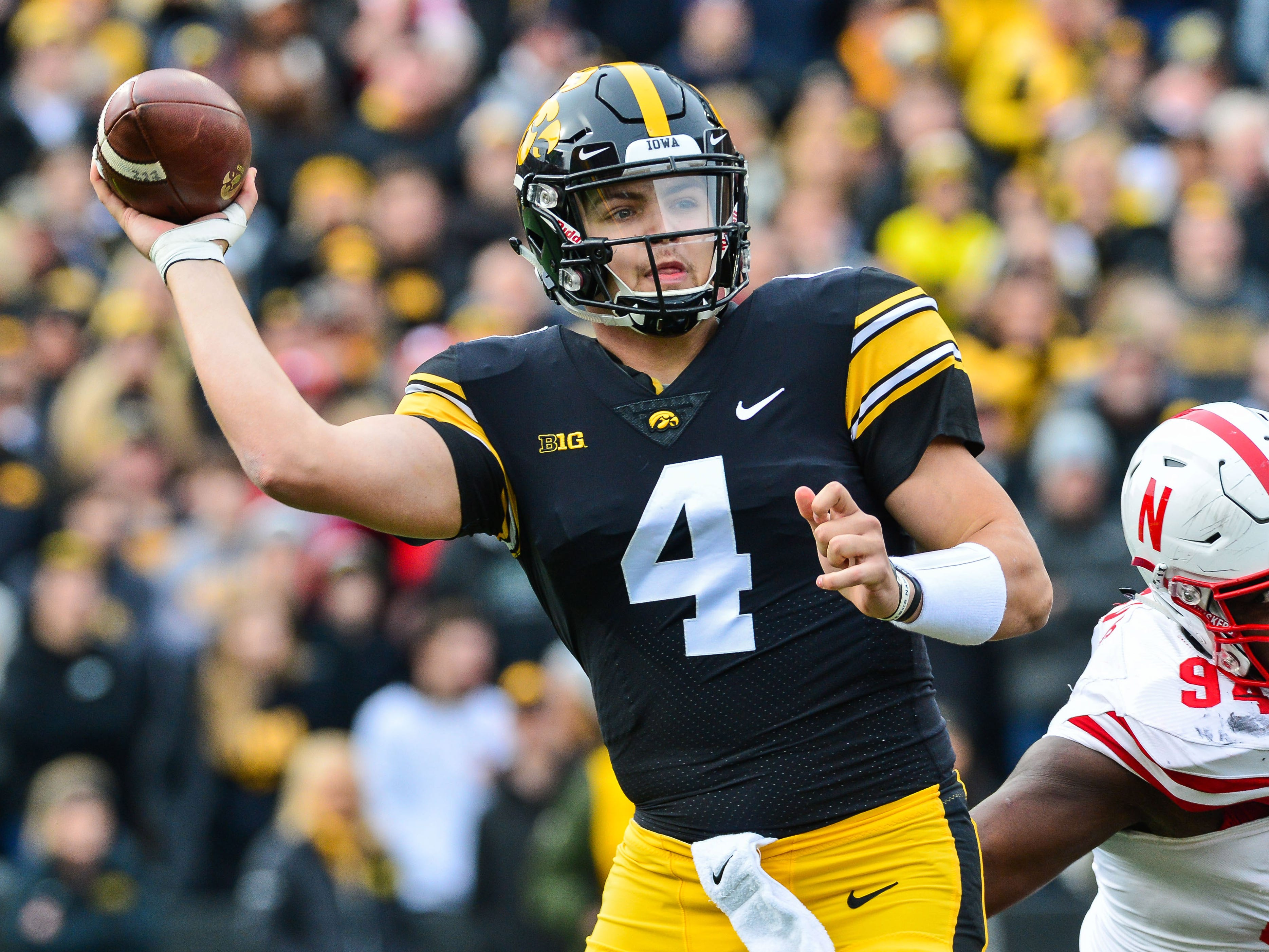 Leistikow: Iowa's Nate Stanley opens up about his critics, his thumb and the NFL
