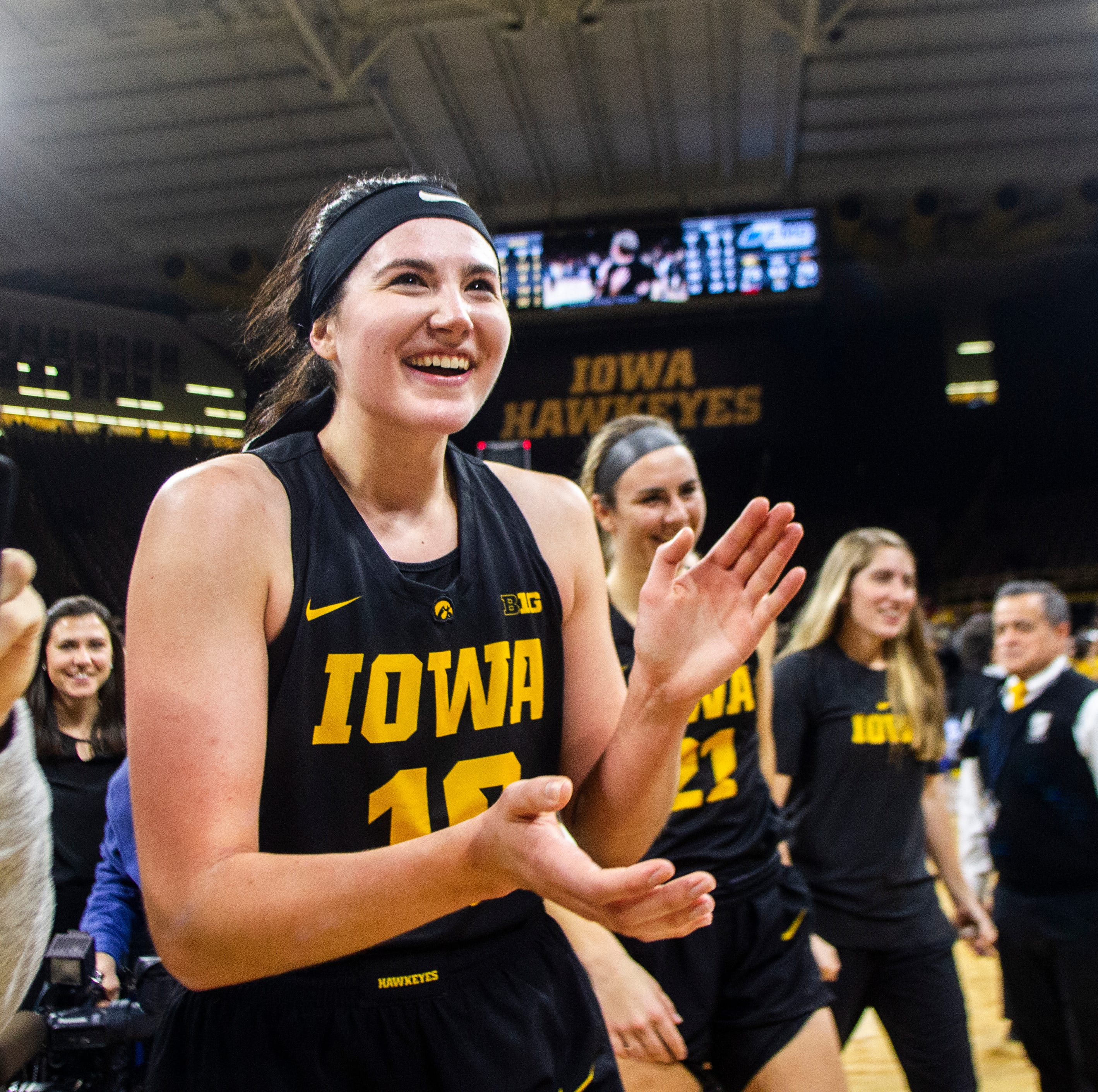 WNBA Draft Diary: Iowa's Megan Gustafson talks orientation day for the rookies