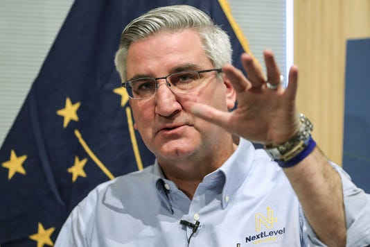 Indiana Governor Eric Holcomb And Lieutenant Governor Suzanne Crouch Announce The State S Legislative Agenda For 2019 At Trader S Point Creamery In Zionsville Ind Thursday Dec 6 2018