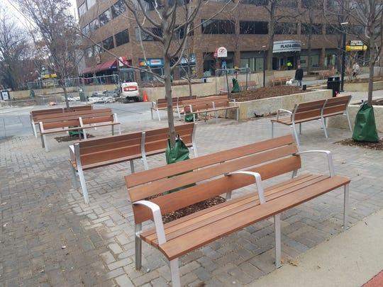 Ped Mall benches