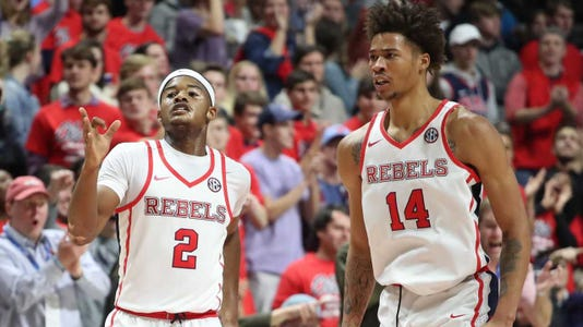 Ole Miss Hoops Kj Buffen Devontae Shuler