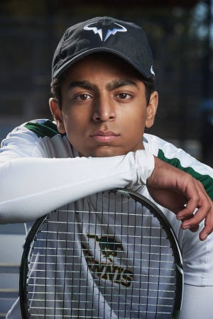 Pillow Academy senior Sunjay Chawla poses for a photo. Chawla won the 2018 Wendy's High School Heisman Award, which will send him to New York City for the Heisman Trophy ceremony.