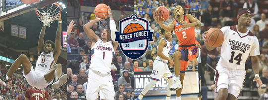 Mississippi State, Clemson, Connecticut and Florida State are this year's participants in the Never Forget Tribute Classic.