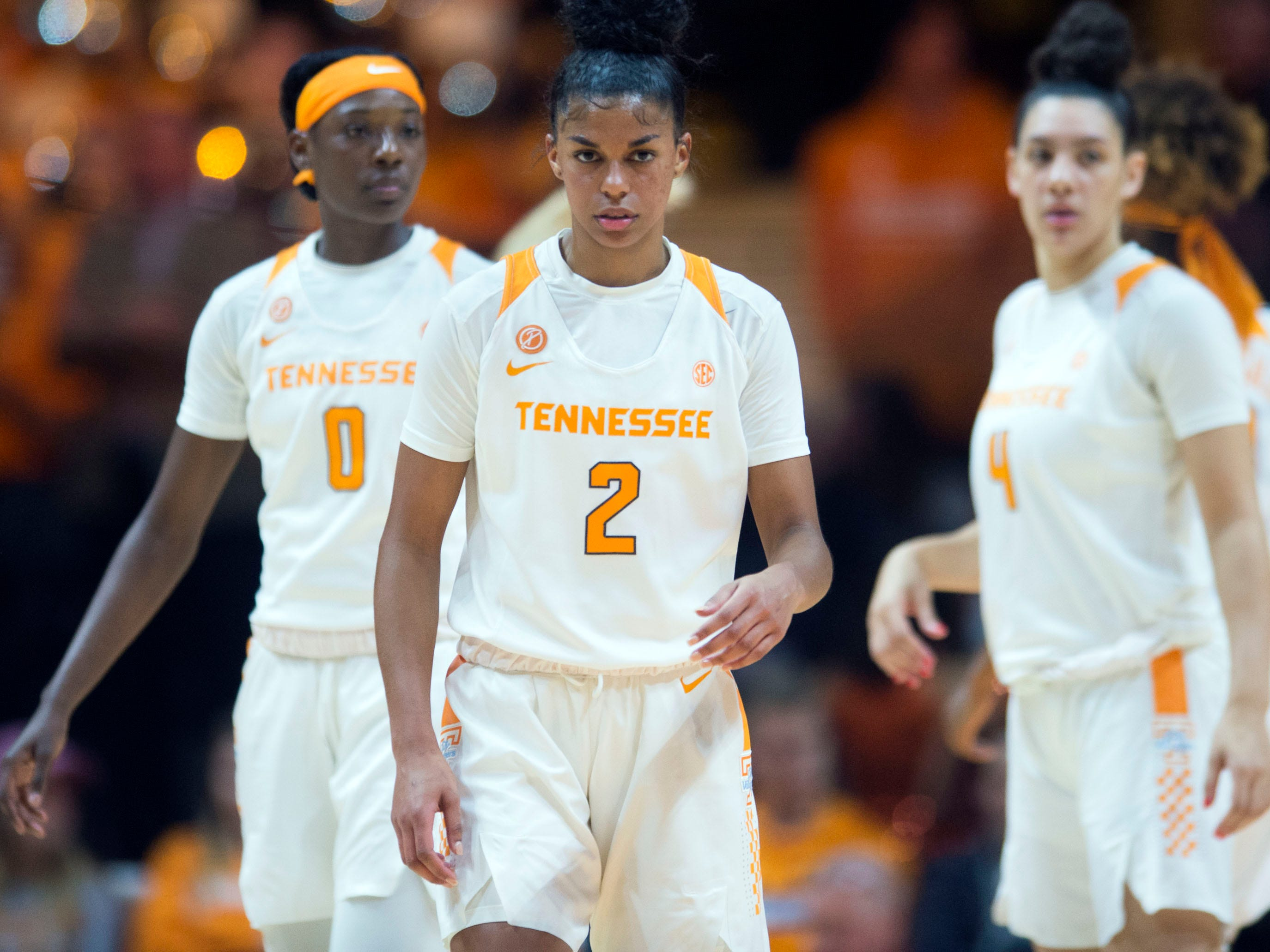 Tennessee's Evina Westbrook (2) during the game against Stetson on Wednesday, December 5, 2018.