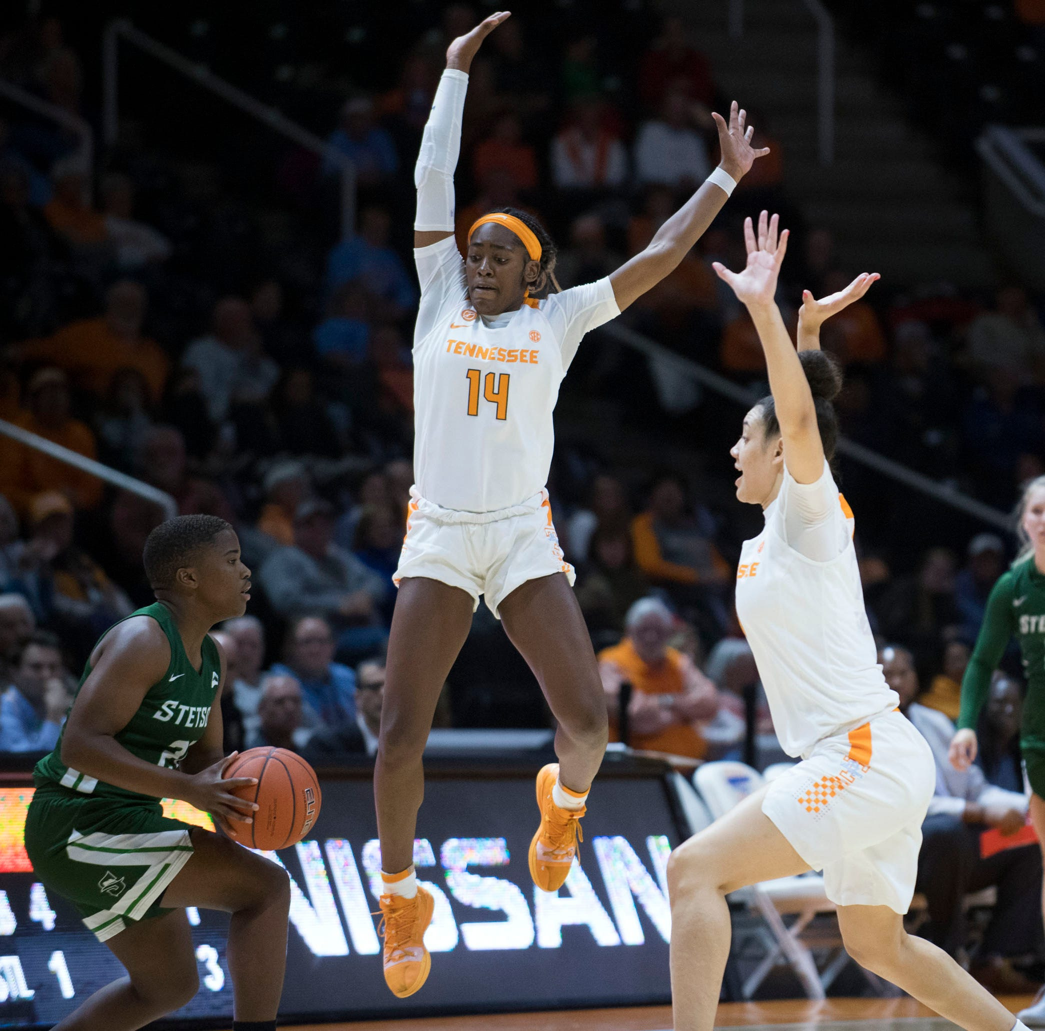 UT Lady Vols beat Texas 88-82 in the 40th edition of women's basketball rivalry