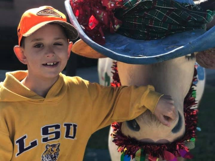 Boy, 8, fighting deadly brain cancer wants 190 cards for Christmas