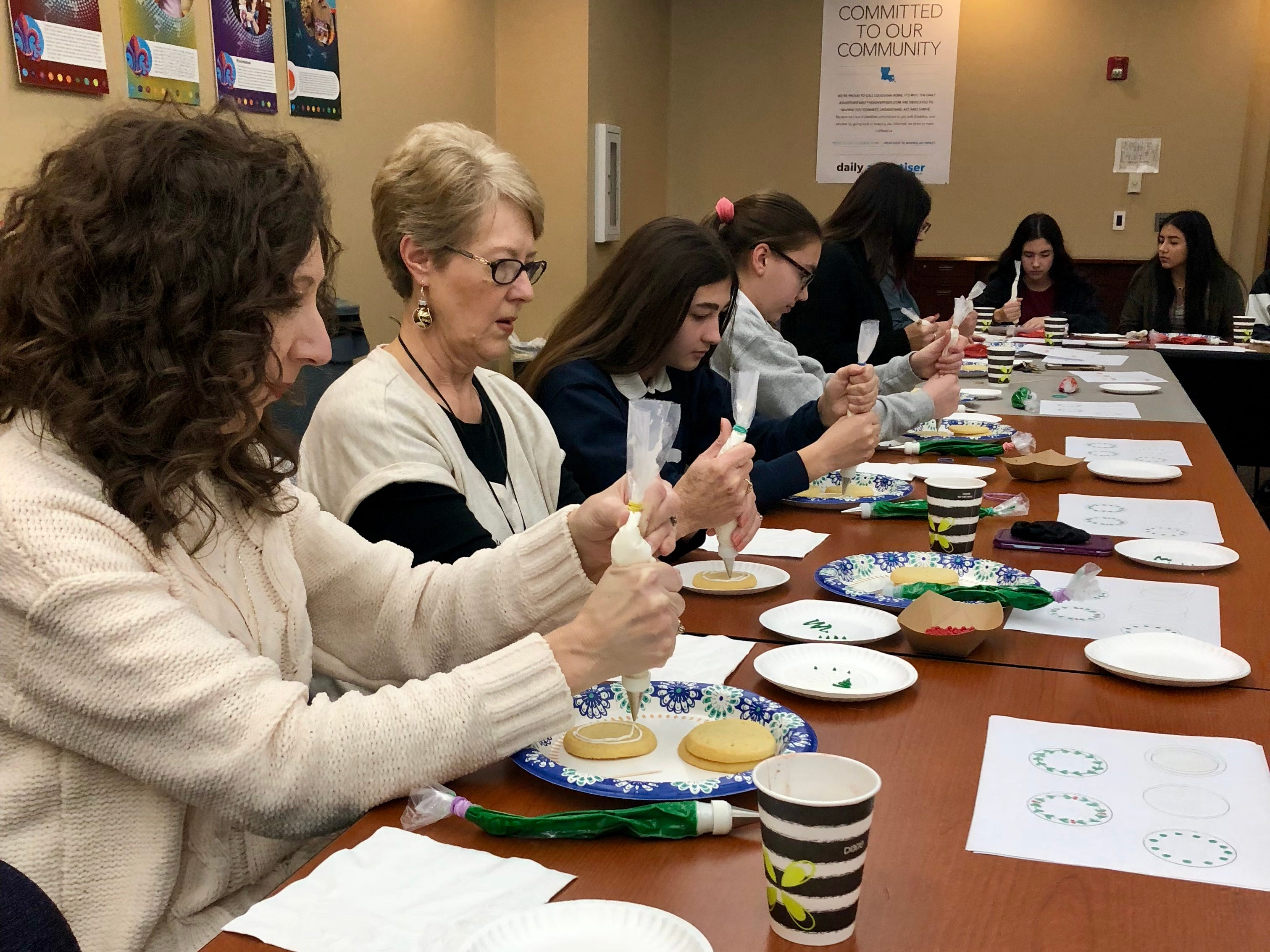 The Daily Advertiser and food writer Megan Wyatt hosted four cookie-decorating workshops in November and December to get folks into the holiday spirit.