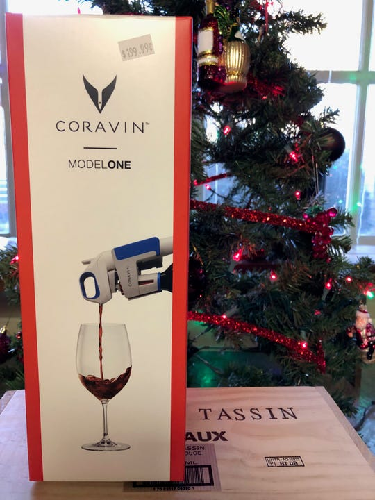 The Coravin preservation system allows you to pour a taste of wine without actually opening the bottle.