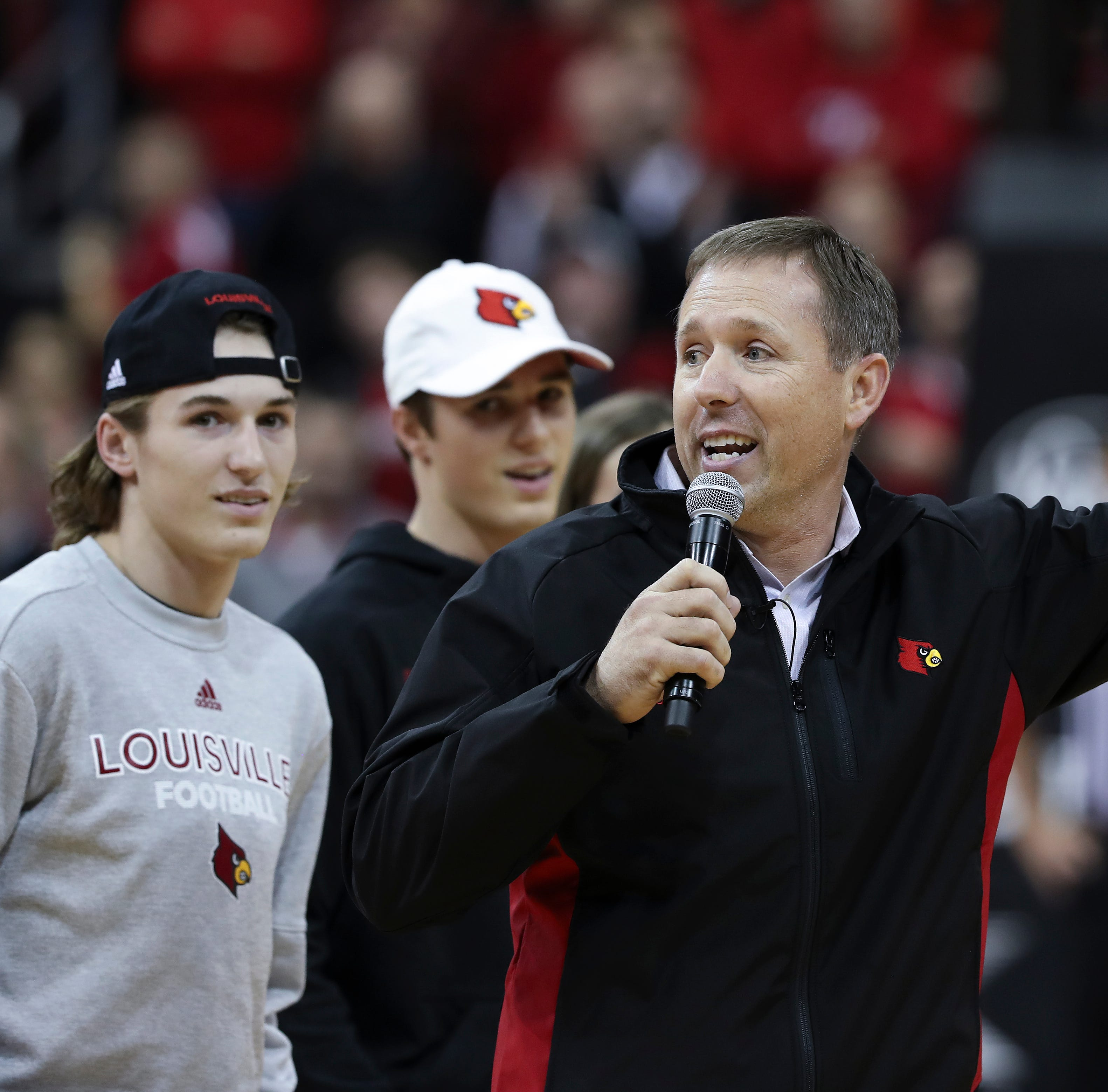 A task for Scott Satterfield this weekend: Find Louisville's next QB