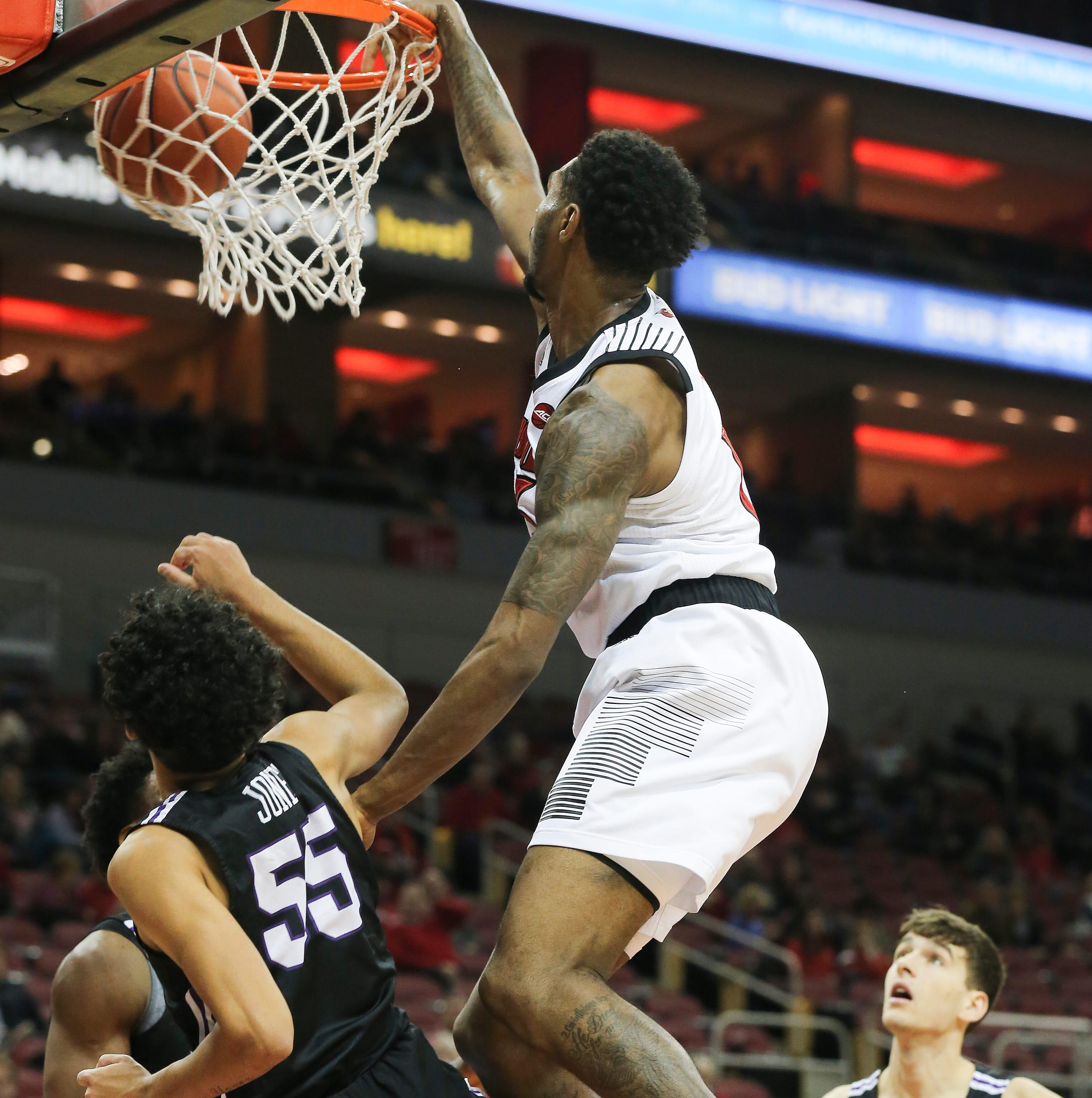 Dunk lands Louisville basketball's V.J. King on SportsCenter's Top 10