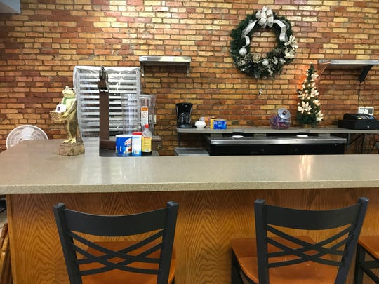 There's counter seating at Fudge & Frosting, located at 333 S. Washington Square.