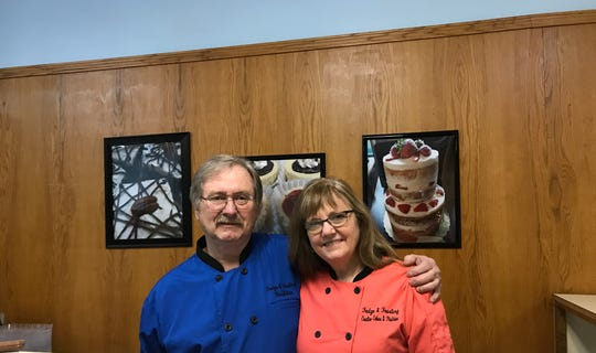 Joel Martin and Roxann Mills are owners of Fudge & Frosting, opening Dec. 10 at 333 S. Washington Square in downtown Lansing.