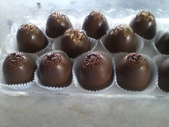 Homemade truffles made by Fudge & Frosting, opening at 333 S. Washington Square in downtown Lansing.