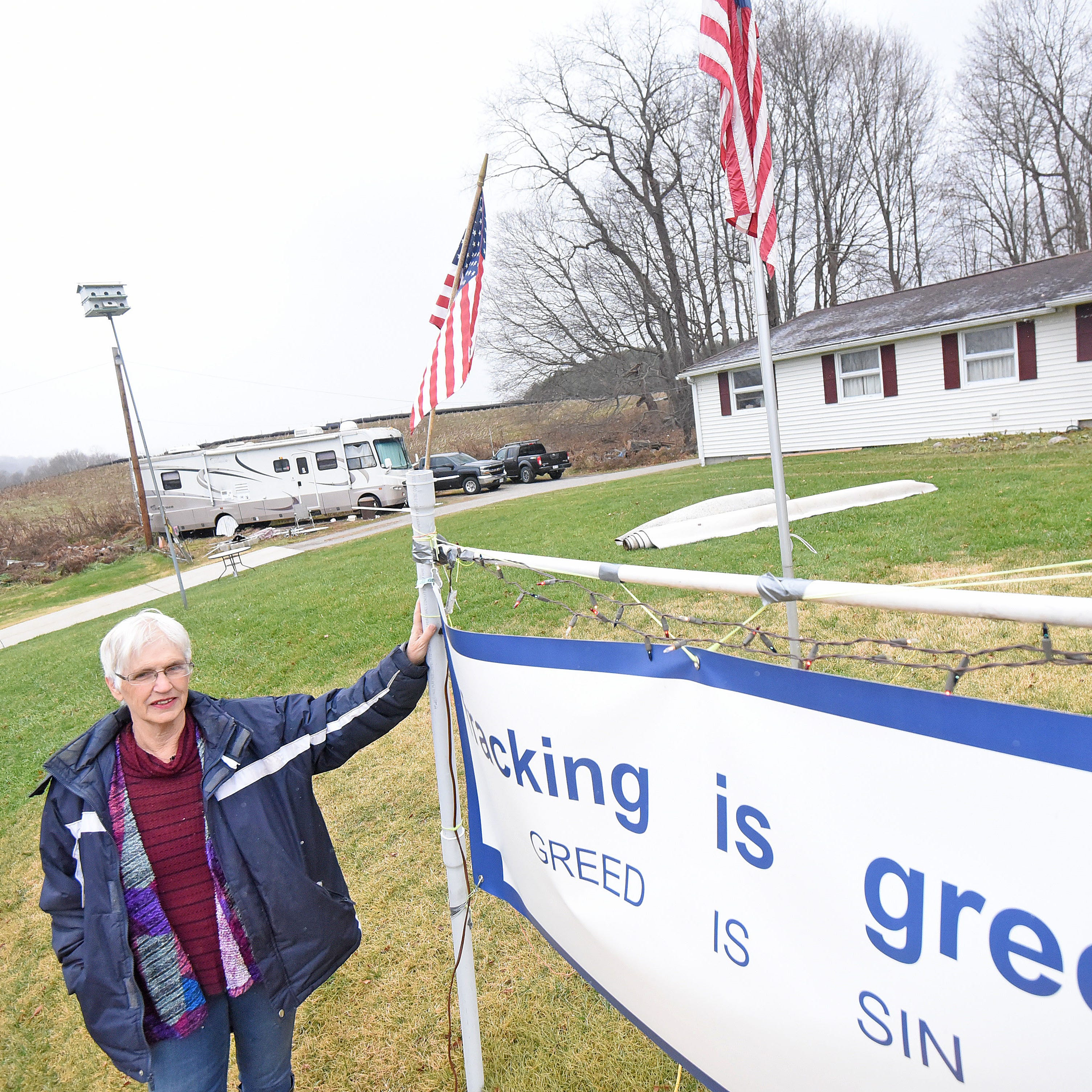 Retired Monroe Twp. couple fears water contamination from adjacent oil and gas well