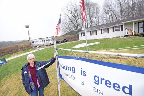 Retired Monroe Twp. (Mansfield) couple fears water contamination from adjacent oil and gas well