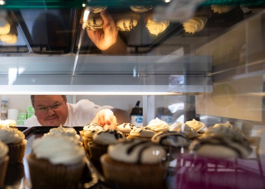 Frost Bake Shop turns out about 20,000 cakes each year, according to chef and owner Bill Kloos.