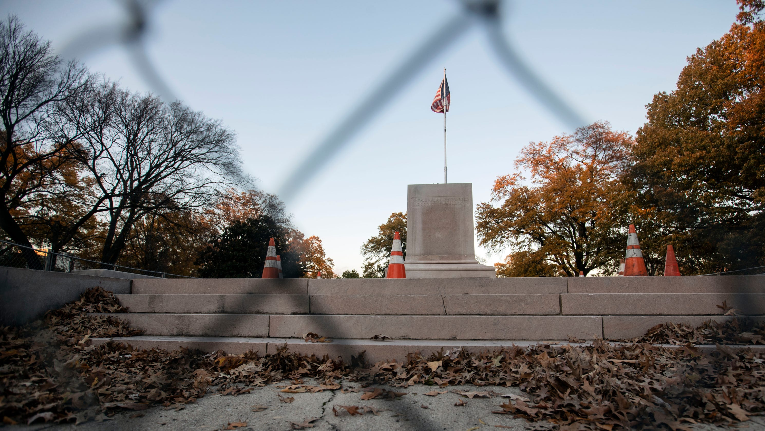 Confederate Statues Memphis By Nathan Bedford Forrest