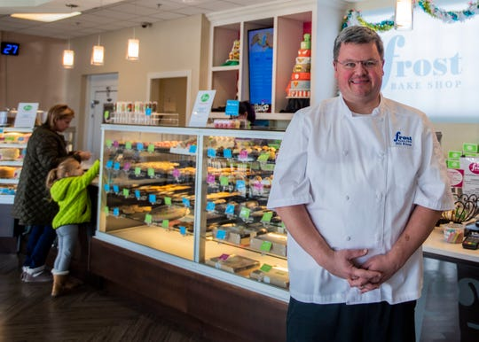"Bill Kloos, the chef and owner of Frost Bake Shop, got his start in restaurant kitchens. ""Thinking back 10 to 15 years ago, I never thought we would be involved in a bakery,"" he said."
