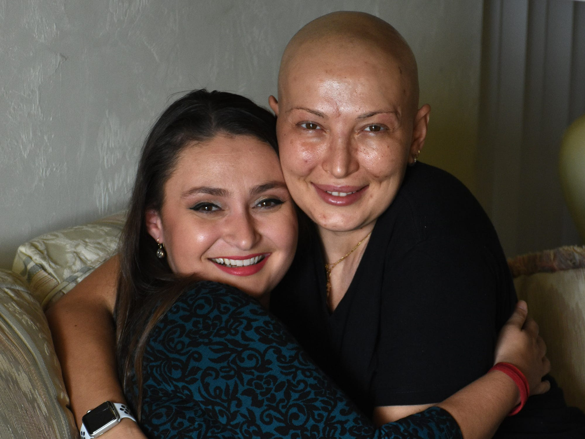 Photos: Friends help woman battling cancer