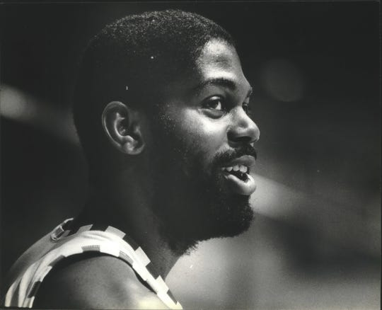 Claude Gregory participated in some big battles between his Wisconsin Badgers basketball team and Marquette.