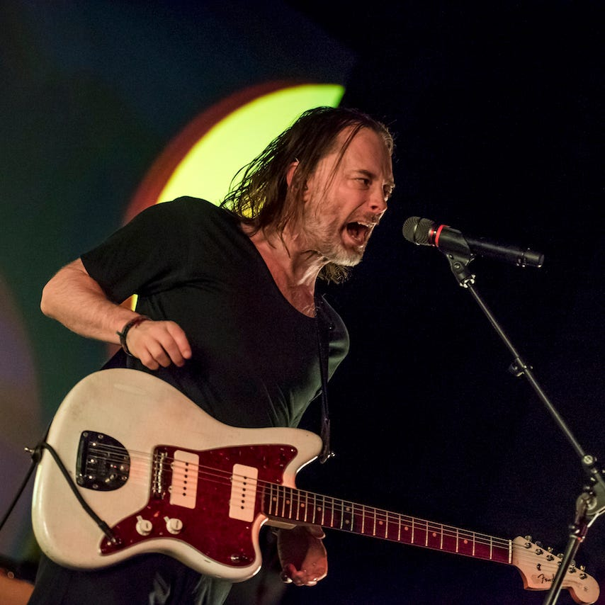 No Radiohead, no problem. Thom Yorke was remarkable solo at Milwaukee's Riverside Theater.