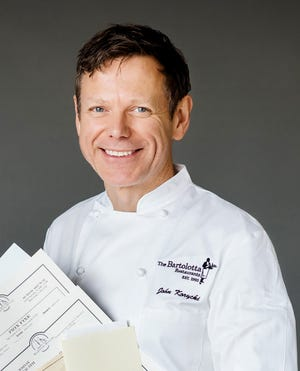 John Korycki, executive chef at Harbor House, grew up in a Polish household with lots of good, home-cooked food.