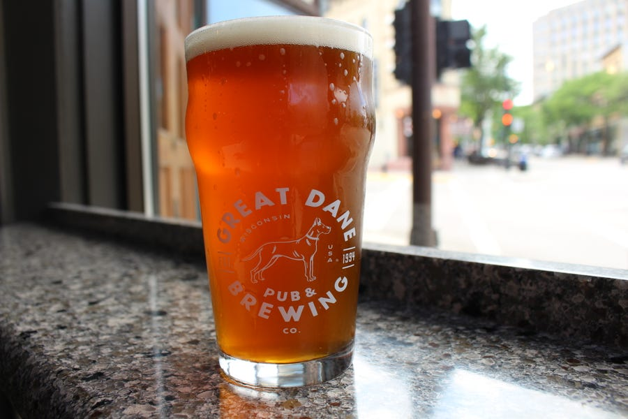 The Great Dane in Madison has brewed a pale ale with CBD.
