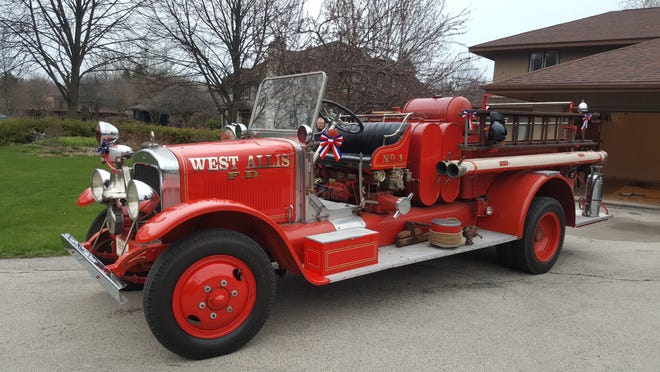 The West Allis Fire Department is raising funds so it can buy this 1930 Pirsch pumper truck that was used by the department from 1930 to 1972. The truck has been in the hands of private collectors since it was decommissioned.